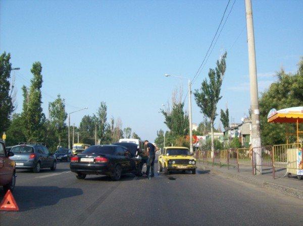ДТП на Лузановке. На поселке Котовского огромные пробки (фото), фото-1