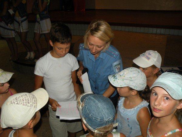 Тематический праздник «День с ГАИ» организовали в детском лагере «Заря» сотрудники Госавтоинспекции (ФОТО), фото-3