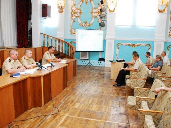 В Николаеве состоялось совещание штаба МЧС по вопросам пожароопасной ситуации в области (ФОТО), фото-1