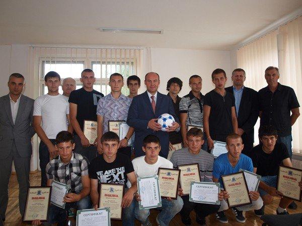 Команду ФК «Тернопіль» преміювали, фото-2