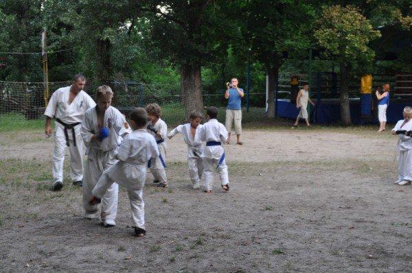 Киокушин-каратисты Кривого Рога провели летние сборы местного формата (фото), фото-2