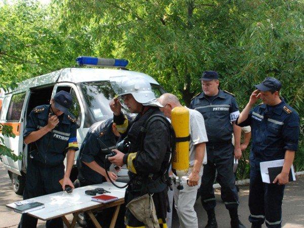 В Николаевском пансионате для ветеранов войны и труда сотрудники МЧС проводили учения (ФОТО), фото-5