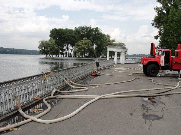 На оновленому озерці в Тернополі будуть водні атракціони, фото-8
