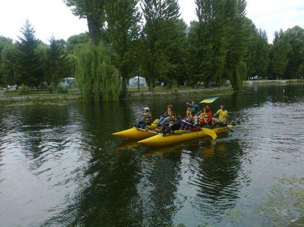 На оновленому озерці в Тернополі будуть водні атракціони, фото-4