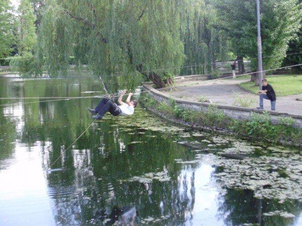 На оновленому озерці в Тернополі будуть водні атракціони, фото-7