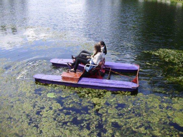 На оновленому озерці в Тернополі будуть водні атракціони, фото-1