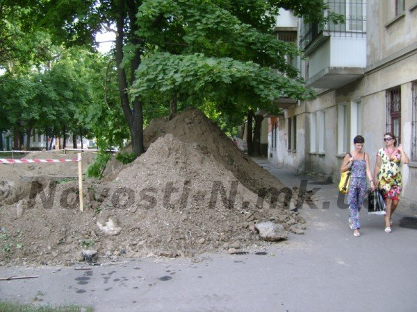 В Николаеве снова перерыли Московскую улицу (ФОТО), фото-5