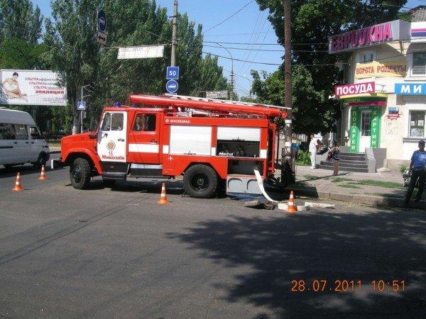 В Николаеве сотрудники МЧС проводили учения (ФОТО), фото-1