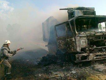 Крымские пожарные спасли 4 тыс. бутылок коньяка (фото), фото-2
