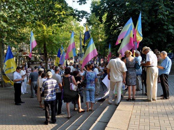 В Николаеве оппозиционные партии провели очередной митинг (ФОТО), фото-1