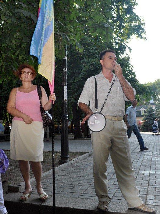 В Николаеве оппозиционные партии провели очередной митинг (ФОТО), фото-2