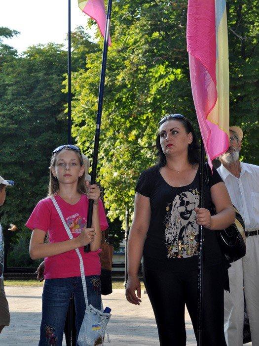 В Николаеве оппозиционные партии провели очередной митинг (ФОТО), фото-7