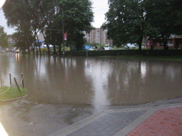 Наслідки зливи в Тернополі (фото), фото-1