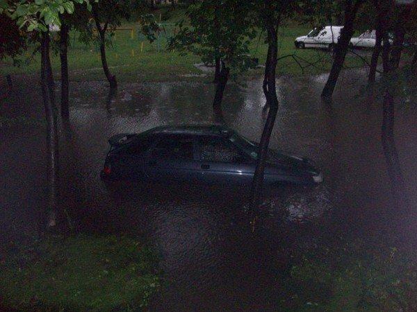 Наслідки зливи в Тернополі (фото), фото-2