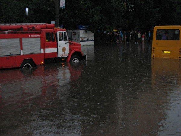 Наслідки зливи в Тернополі (фото), фото-3
