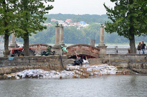 Осушене для чистки тернопільське озерце залило дощем, фото-1