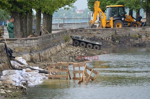 Осушене для чистки тернопільське озерце залило дощем, фото-4