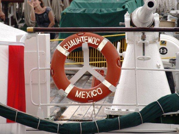 В Одесском порту пришвартовался мексиканский парусник Cuauhtemoс (ФОТО), фото-10
