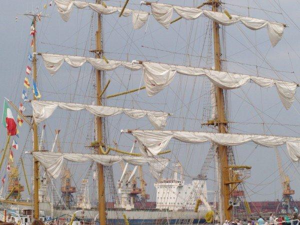 В Одесском порту пришвартовался мексиканский парусник Cuauhtemoс (ФОТО), фото-2