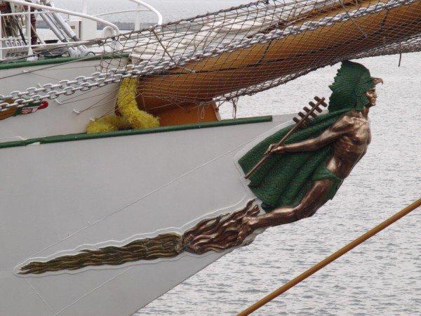 В Одесском порту пришвартовался мексиканский парусник Cuauhtemoс (ФОТО), фото-3