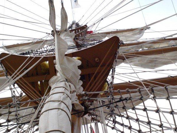 В Одесском порту пришвартовался мексиканский парусник Cuauhtemoс (ФОТО), фото-5