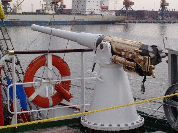 В Одесском порту пришвартовался мексиканский парусник Cuauhtemoс (ФОТО), фото-7