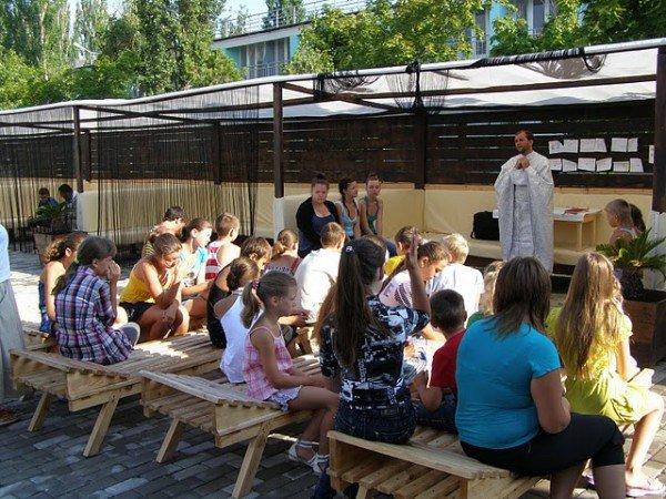 Одесские дети провели каникулы с Богом (фото), фото-1