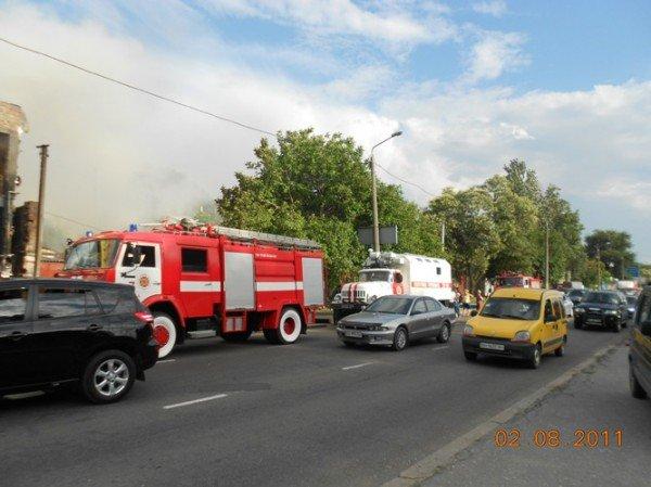 В Одессе пожар на ул Балковской, горит «Нова» (добавлено фото), фото-5