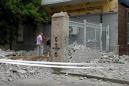 Незаконную постройку в центре Луганска снесли за 1 час (фото), фото-8