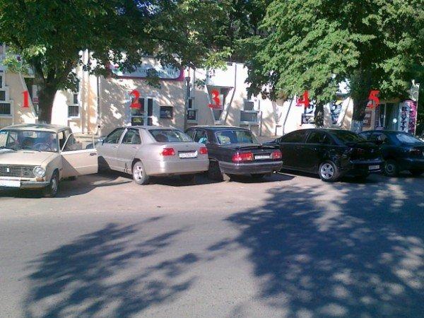 «Общественный контроль дорог» нашел на одесских парковках «мертные души» (фото), фото-1