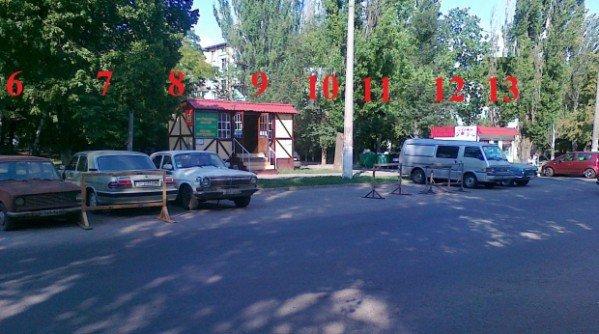 «Общественный контроль дорог» нашел на одесских парковках «мертные души» (фото), фото-2