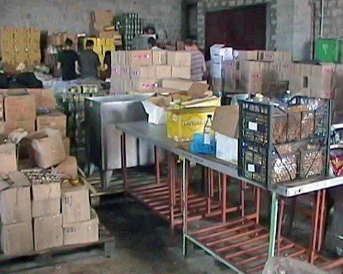 В Луганской области выявлен подпольный цех в котором переупаковывались просроченные продукты (фото), фото-2