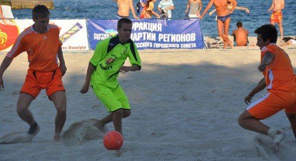 В Одессе выберут чемпиона по пляжному футболу (фото), фото-2