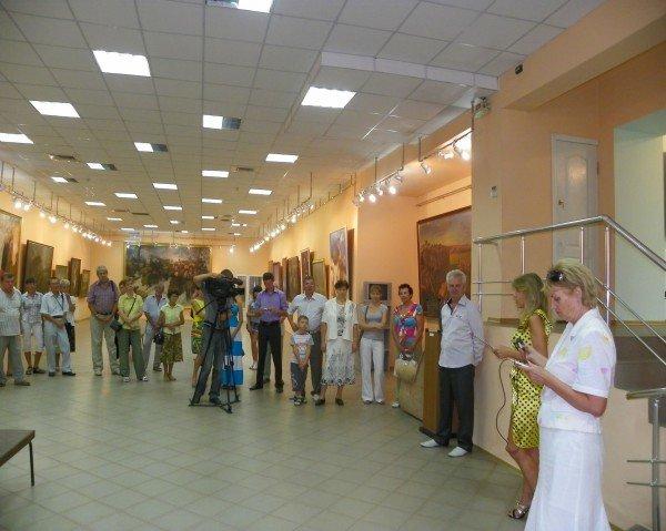 Открылась выставка работ Анатолия Панченко, фото-4