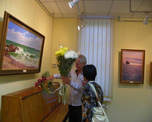 Открылась выставка работ Анатолия Панченко, фото-1