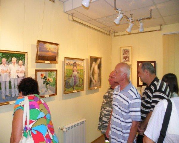 Открылась выставка работ Анатолия Панченко, фото-3