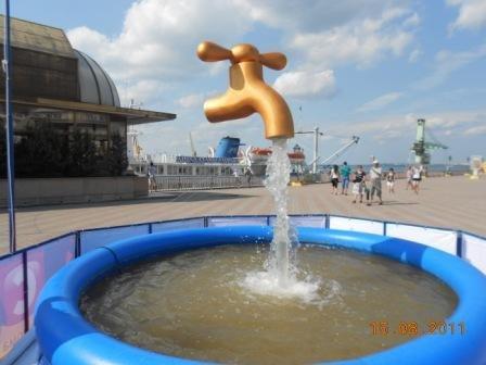 В Одессе открыли новый фонтан, фото-1