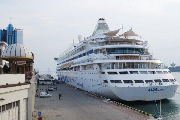 Одессу посетил лайнер Аида-Аура, фото-1