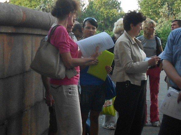 Инвесторы «Прогресс - Строя» грозятся устроить скандал перед стенами одесской мэрии ( фото), фото-3