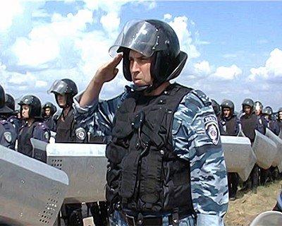 Луганский гарнизон милиции продемонстрировал подготовку к «Евро-2012» (фото), фото-5