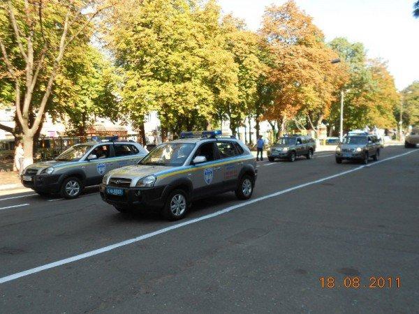 В центре Одессы БТР «Беркута» и ГАИ (фото), фото-4
