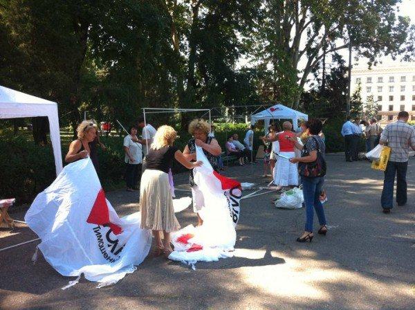 На Куликовом поле собирают подписи в поддержку Юлии Тимошенко (фоторепортаж), фото-6
