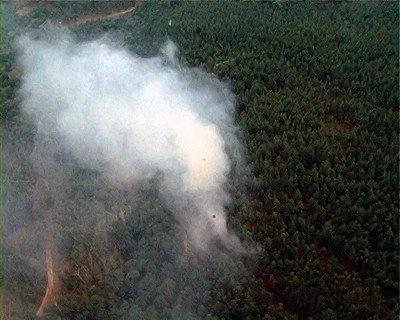 Во время патрулирования территории Луганской области вертолет обнаружил два пожара (фото), фото-3