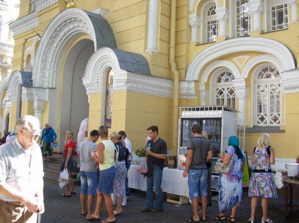 Одесса празднует Преображение Господне или Яблочный Спас (фоторепортаж), фото-3