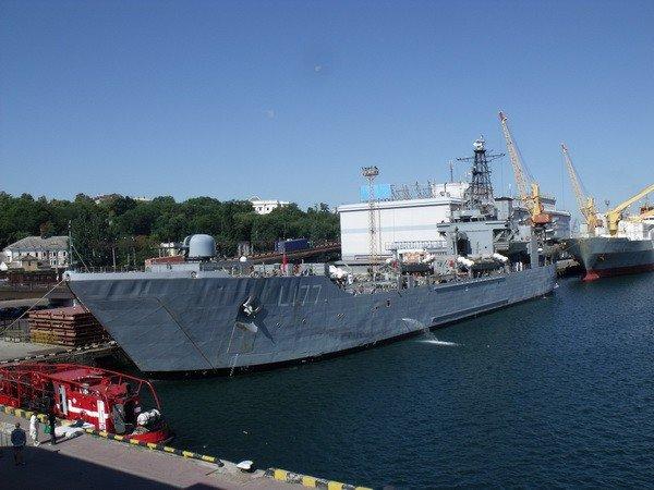 Сегодня в Одесский порт зашел еще один военный корабль из Средиземноморья (фото), фото-1