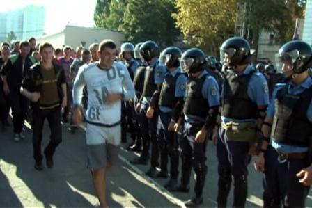 Бунт сельских жителей на одном из одесских рынков (фото), фото-8