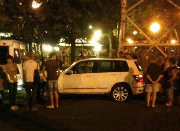 ДТП в Одессе. Дрифтеры на Таирова не вписались сразу в два автомобиля (фото), фото-1