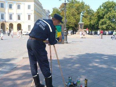 Одесские спасатели МЧС вошли в «Книгу рекордов Украины» (фото), фото-1