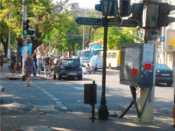 В Одессе на пешеходном переходе сбили человека (фото), фото-1