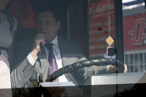 Костусев решил стать водителем троллейбуса (фото), фото-1